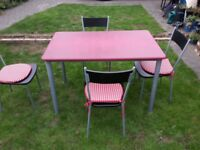 Kitchen Table & Chairs - DELIVERY AVAILABLE