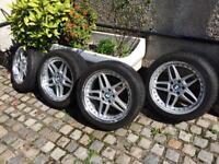 Wheels Whiter tires BMW 245/45/19 DUNLOP SPORT