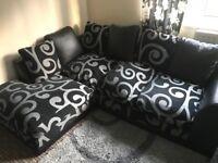 Corner sofa & 2 seater