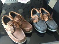 Dubarry gortex deck shoes size 11