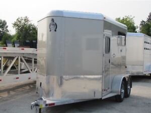 2017 Adams Trailers 2 Horse Straight  Load Trailer Coming Soon!