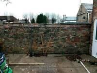 Garden maintenance fencing etc