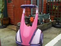 Feber Dareway 12v ride on in pink