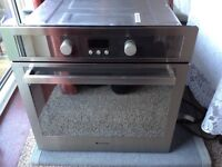 Hotpoint Oven with self clean sides. Excellent condition and working order.