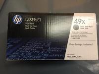Laserjet dual pack