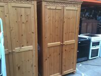 Pine double Wardrobes