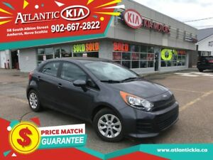 2016 Kia Rio LX+ LOW KMs, Factory Warranty ONLY $87* b/w