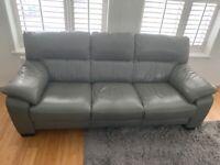 Three piece sofa set