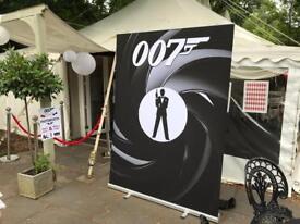 James Bond Photo Prop
