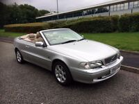 Volvo C70 2.4 T, CONVERTIBLE, FULL SERVICE HISTORY, LOW 48000 MILES