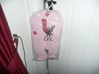Liverpool Football Club BABIES AGED 0 - 3 MONTHS Pink Snowsuit BNWT