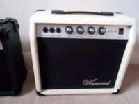 2 Electric Guitar Practice Amps