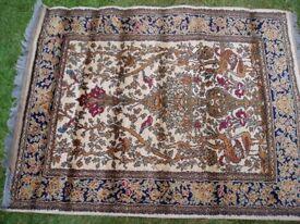 Tree of Life design woolen rug