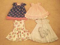 Girls Summer Dresses 12-18m