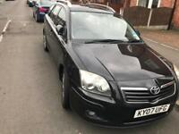 Toyota Avensis 2.0 D4D 2007 with full service history and MOT