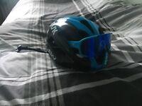 Medium Team Sky KASK Protone Helmet + POC Cycling Glasses + Team Sky Castelli Jersey