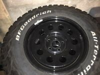 bf goodrich all terrain off-road ta tyres and wheel set 265 70R17