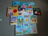 Peppa Pig books and DVD's