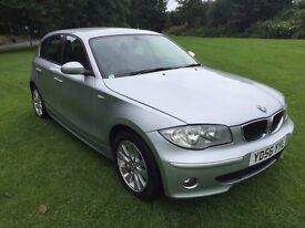 2006 BMW 120D SE 5 DOOR HATCH - OUTSTANDING CONDITION - 12 MONTHS MOT