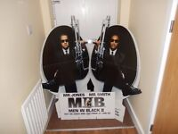 Rare Men in Black Advertising Standee - Will Smith, Tommy Lee Jones