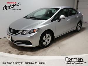 2013 Honda Civic LX Winter Tires! - Bluetooth | Heated Seats...