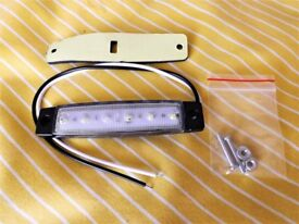 12 volt Van / Trailer / Truck LED side markers - Choice - AMBER _ RED _ WHITE please specify