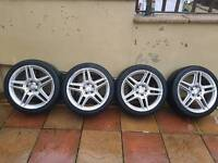 Mercedes c class AMG 18 inch alloys wheels
