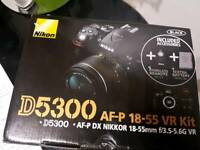 Brand New Sealed NIKON D5300 with Lens - Receipt and 2 years warranty