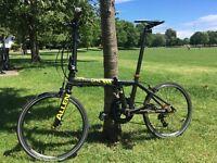 Allen Sports Ultra 1 Carbon 20 Speed Folding Bicycle Bike