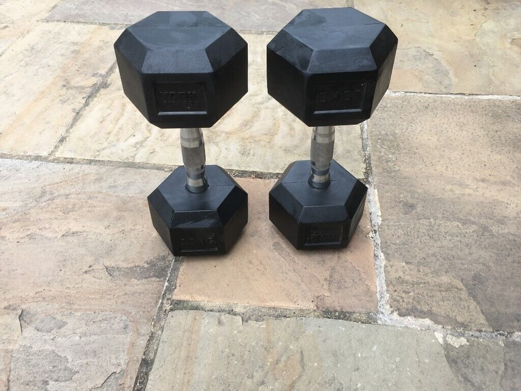 2 x 10kg Hex Dumbbells | in Haywards Heath, West Sussex | Gumtree