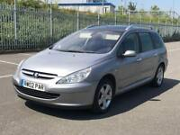 2004 PEUGEOT 307 SW *7 SEATER*PETROL *ESTATE *AUTOMATIC *LONG MOT *NATIONWIDE DELIVERY *PART EXCHNGE
