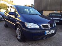 Vauxhall Zafira 1.6 5dr£1,795 13 stamps,well looked after
