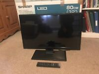 Sharp 32 inch LCD TV - Great Condition