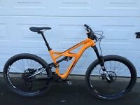 Specialized Enduro Elite 650b 2016. Size medium in Gallardo Orange.