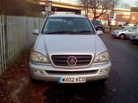 7 SEATER MERCEDES BENZ ML 320 IN PERFECT CONDITION