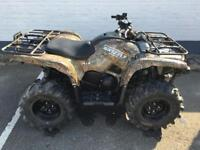 Yamaha grizzly 700 road legal quad.