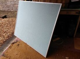 Multi Purpose Peg Board 4ft x 4ft 6in approx. very good condition