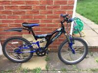 boy blue bike .....in good used condition