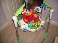 fisher price jumperoo in very good condition