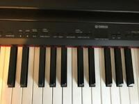 Yamaha P140 88 full size keys digital stage piano plus stand
