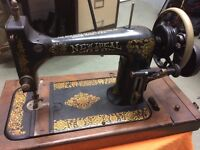 Hand Crank Sewing Machine (Singer style)
