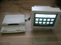 VINTAGE CANON STAR WRITER JET 4000 with CANON 14'' VGA MONOCHROME MONITOR