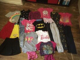Bag full of girls clothes various sizes