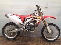 Honda CRF 450 R 2008 CRF450R CRF450