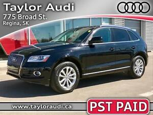 2014 Audi Q5 2.0 Technik PST PAID, LOCAL TRADE, NAV, B&O SOUN...