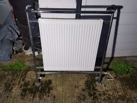 electric and central heating radiator