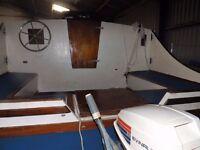 4 Berth Domino Sailing Catamaran for Sale