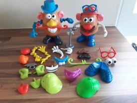 Mr + Mrs potato head toys + accessories