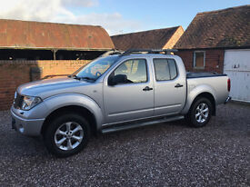 NISSAN NAVARA D/C OUTLAW DCI 2007 GREAT CONDITION