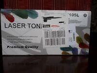 LAZER TONER FOR SAMSUNG COMPATIBLE MLT 105L NEW BLACK 2500 PAGES